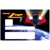 ZZ TOP, Sticker pour carte bancaire type ELECTRON