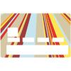 Sticker pour carte bancaire, bayadère 2019