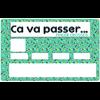 Sticker pour carte bancaire, Ca va Passer, Fingers Crossed