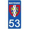 53-blason-sticker-plaque-immatriculation-the-little-sticker-fabricant-mayenne