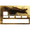 Sticker pour carte bancaire, Game of Thrones, Edition limitée 300 ex.
