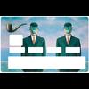 Sticker pour carte bancaire, Hommage à MAGRITTE