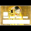 Sticker pour carte bancaire, le BAISER de Gustav Klimt
