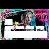 Sticker pour carte bancaire, hommage à harley Quinn, Suicide Squad, édition limitée 100 ex