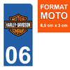 sticker-plaque-immatriculation-moto-DROIT-06-HARLEY-DAVIDSON