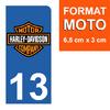 sticker-plaque-immatriculation-moto-DROIT-13-HARLEY-DAVIDSON