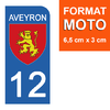 12-AVEYRON-sticker-plaque-immatriculation-moto-the-little-boutique