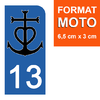 13-BOUCHES-DU-RHONE-CAMARGUE-sticker-plaque-immatriculation-moto-the-little-boutique