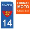 14-CALVADOS-sticker-plaque-immatriculation-moto-the-little-boutique