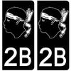 2B-CORSE-NOIR-sticker-plaque-immatriculation-the-little-sticker-fabricant- PARIS