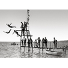impression-photo-toile-Nice-Les-plongeurs-1910-50X70