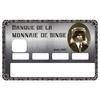 Stickers CB, decoratif, pour carte bancaire, MONNAIE DE SINGE - crée par le DgedeNice