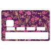 Sticker pour carte bancaire, Fleurette