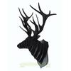 Trophée animalier, Puzzle 3D en carton à monter, Marius le cerf Noir