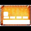 Stickers CB, autocollant pour carte bancaire, le Petit beurre de LU par le DgedeNice