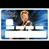 Stickers décoratif pour carte bancaire, Johnny Hallyday, edit. limitée 300 ex