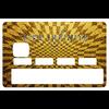 Sticker pour carte bancaire, Visa Infinite Gold