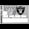 Sticker pour carte bancaire, Oakland Raiders