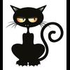 sticker macbook CHAT VAMPIRE