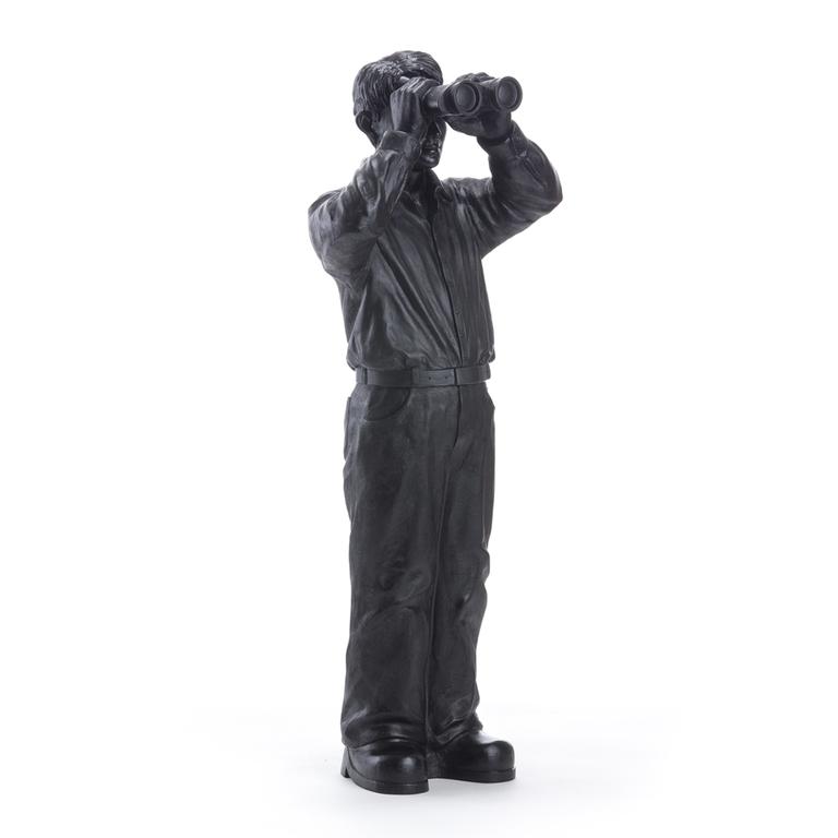 Statuette-Worldview-Model III-noir-2008-Ottmar- Hörl-the-little-boutique
