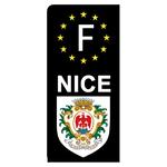 sticker-personnalisé-NOIR-pour-plaque-immatriculation-AUTO-EU