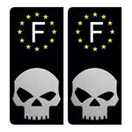 SKULL-FRANCE-NOIR-the-little-boutique-sticker-plaque-immatriculation