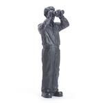 Statuette-Worldview-Model III-gris-2008-Ottmar- Hörl-the-little-boutique