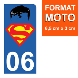sticker-plaque-immatriculation-moto-DROIT-06-SUPERMAN