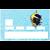 sticker-cb-LA-MER-CORSE-deco-idees-DGEDENICE - copie