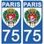 75 BLASON-sticker-plaque-immatriculation-the-little-sticker-fabricant- PARIS