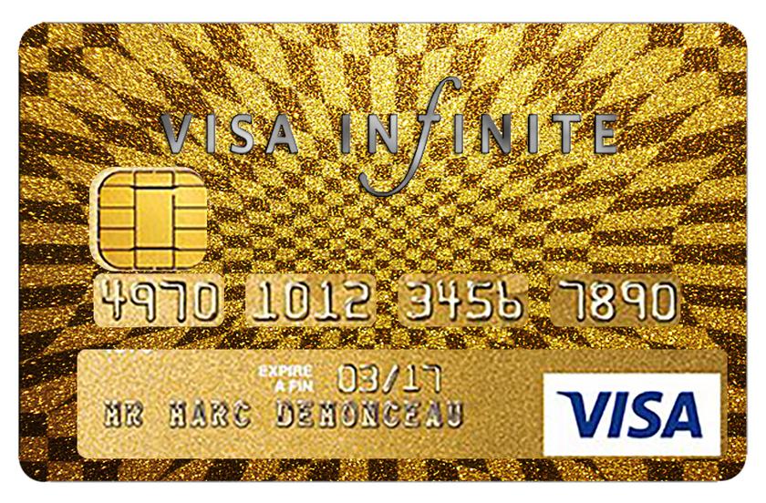 Carte Bancaire Black Gold.Stickers Autocollant Pour Carte Bancaire Visa Infinite Gold