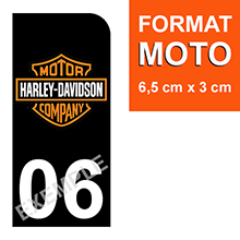PM-HARLEY-DAVIDSON-sticker-plaque-immatriculation-moto-DROIT