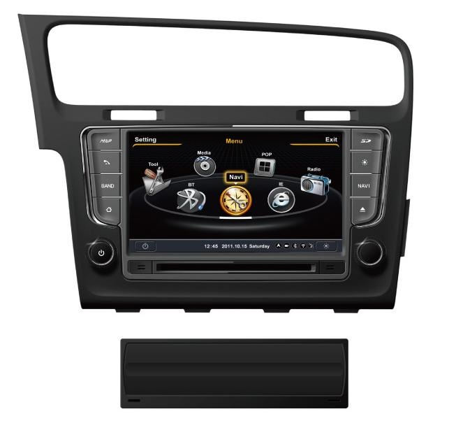 autoradio gps volkswagen golf 7 navigation sygic 3d lecteur usb sd dvd int gr. Black Bedroom Furniture Sets. Home Design Ideas