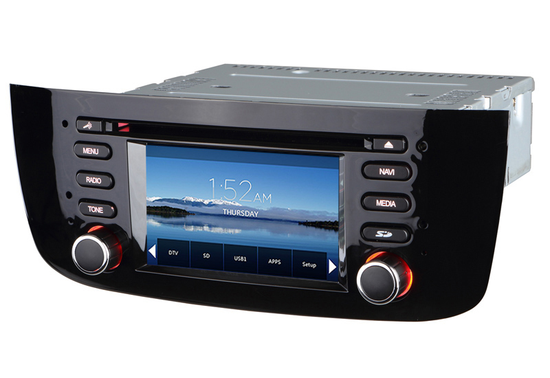 autoradio gps fiat punto evo de 2009 2012 bluetooth licence gps officielle sygic. Black Bedroom Furniture Sets. Home Design Ideas