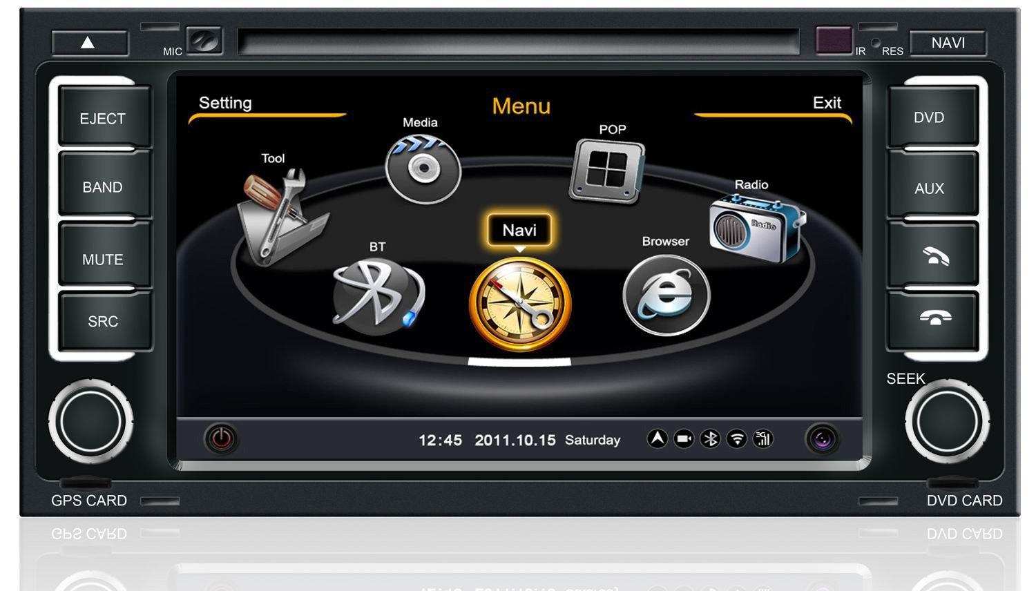poste volkswagen touareg t5 autoradio gps dvd usb volkswagen bluetooth autoradios. Black Bedroom Furniture Sets. Home Design Ideas
