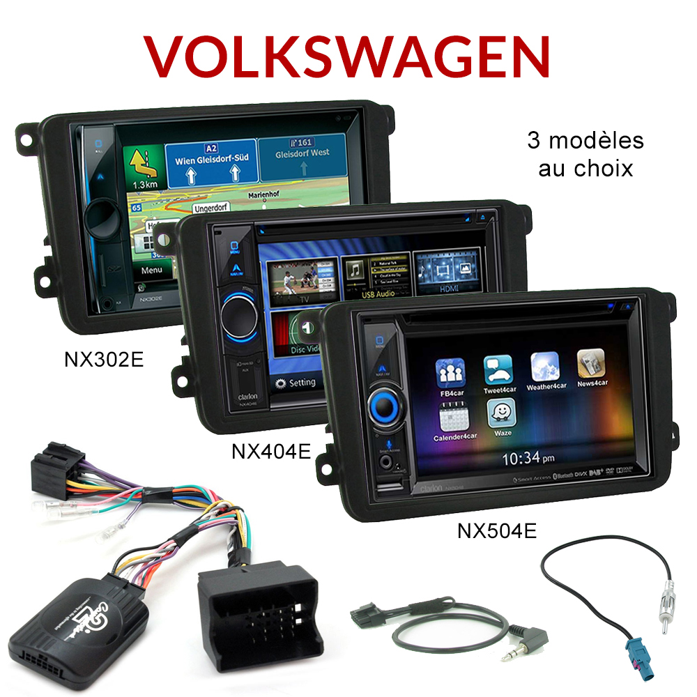 autoradio gps dvd volkswagen golf 6 eos scirocco tiguan. Black Bedroom Furniture Sets. Home Design Ideas