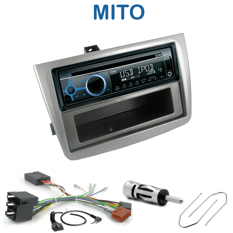 autoradio 1 din alfa romeo mito avec cd usb mp3 bluetooth alfa romeo autoradios. Black Bedroom Furniture Sets. Home Design Ideas