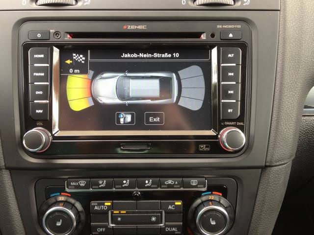 autoradio dvd gps volkswagen golf autoradios zenec ze. Black Bedroom Furniture Sets. Home Design Ideas