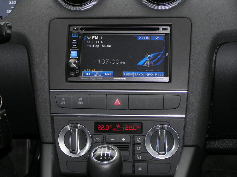 autoradio 2 din audi a3 usb bluetooth ipod mod le alpine autoradios. Black Bedroom Furniture Sets. Home Design Ideas