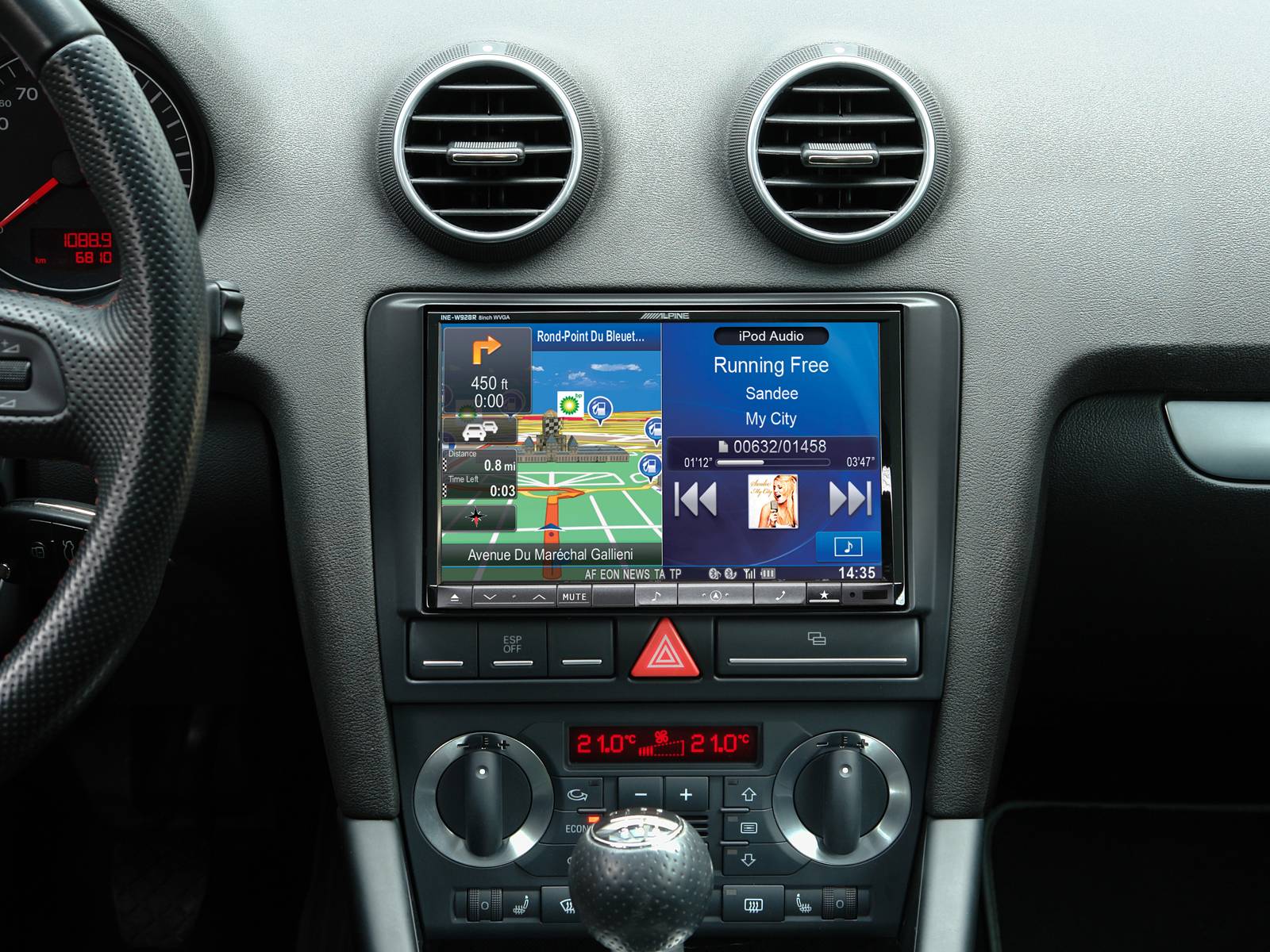 autoradio gps alpine 8 ine w928r ou x801d u pour audi a3 autoradios. Black Bedroom Furniture Sets. Home Design Ideas
