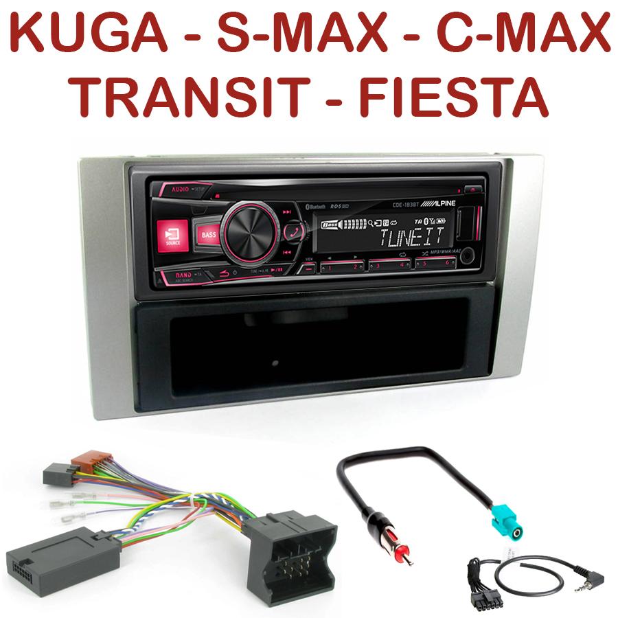 autoradio 1 din ford c max kuga focus fiesta fusion. Black Bedroom Furniture Sets. Home Design Ideas