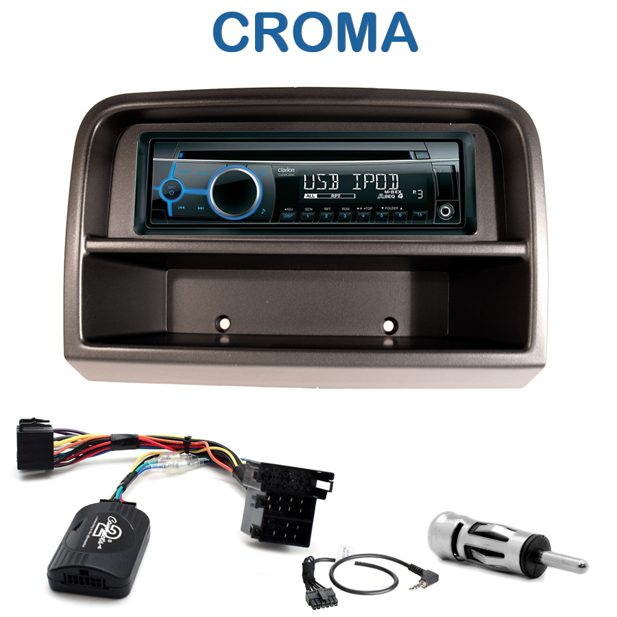 autoradio 1 din fiat croma depuis 2005 avec cd usb mp3 bluetooth fiat autoradios. Black Bedroom Furniture Sets. Home Design Ideas