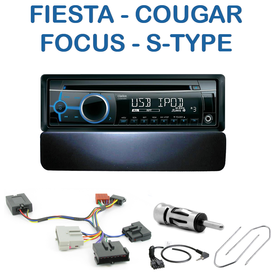 autoradio 1 din ford avec cd usb mp3 bluetooth ford autoradios. Black Bedroom Furniture Sets. Home Design Ideas
