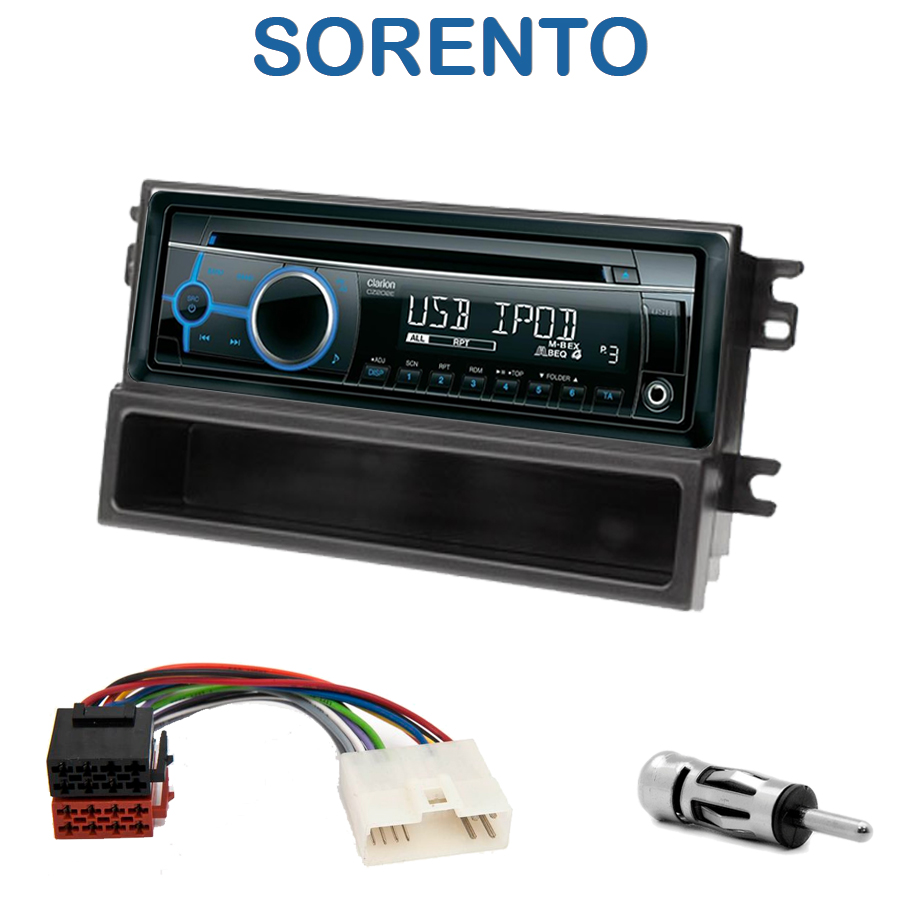 autoradio 1 din kia sorento avec cd usb mp3 bluetooth kia autoradios. Black Bedroom Furniture Sets. Home Design Ideas