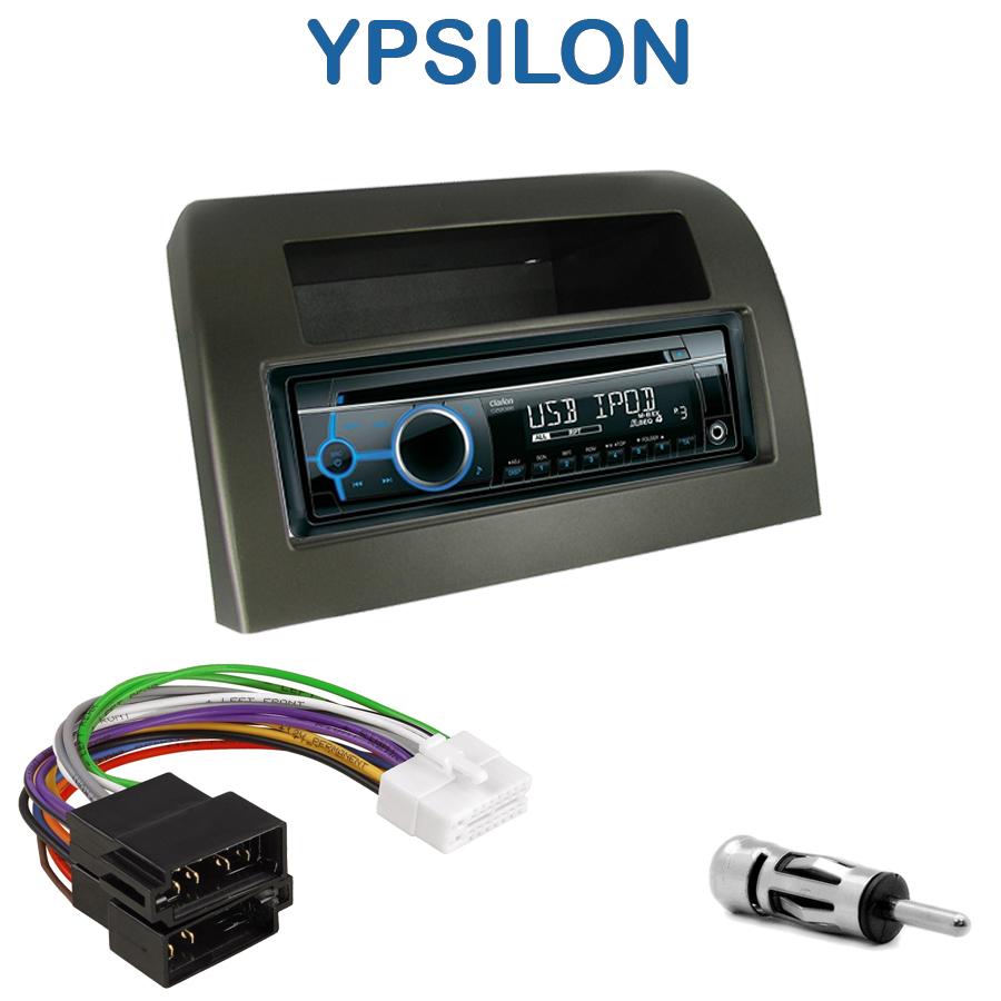 autoradio 1 din lancia ypsilon avec cd usb mp3 bluetooth. Black Bedroom Furniture Sets. Home Design Ideas