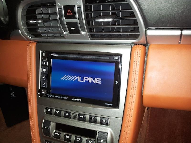 alpine ine w710d porsche 911 cayman poste alpine gps dvd tactile autoradios. Black Bedroom Furniture Sets. Home Design Ideas