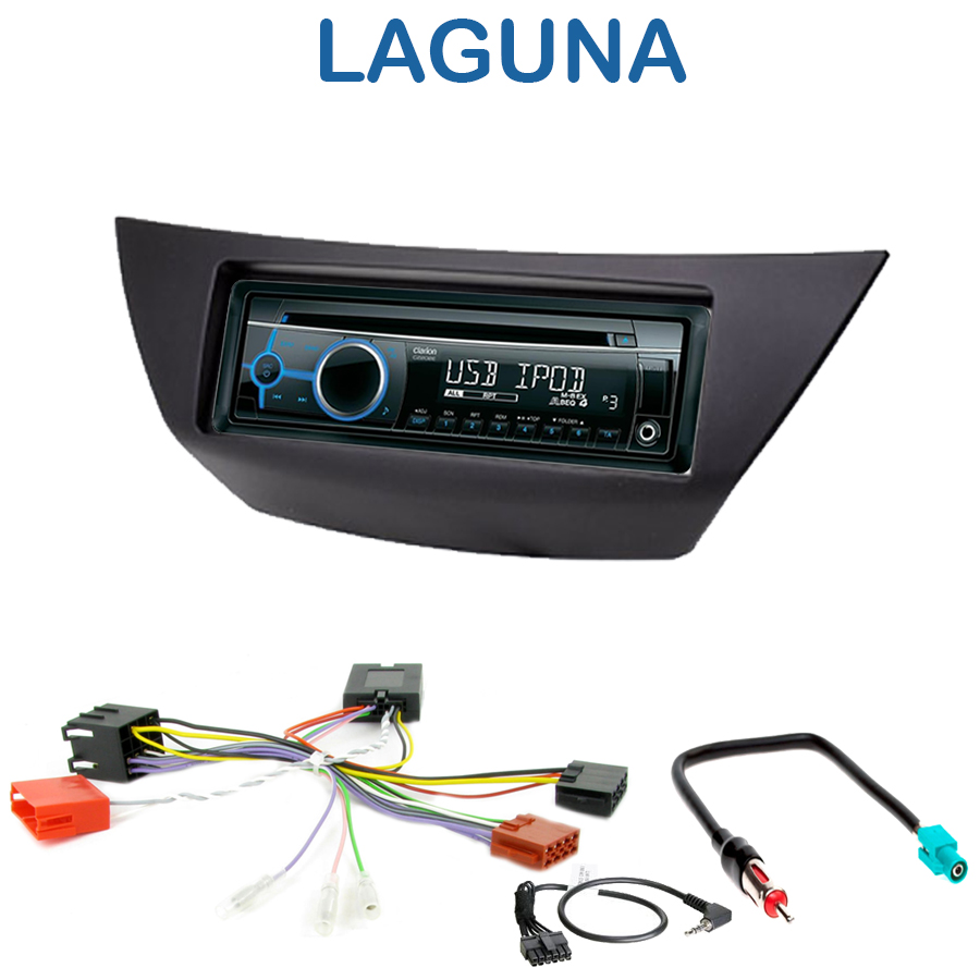 autoradio 1 din renault laguna iii poste cd usb mp3 wma clarion renault autoradios. Black Bedroom Furniture Sets. Home Design Ideas