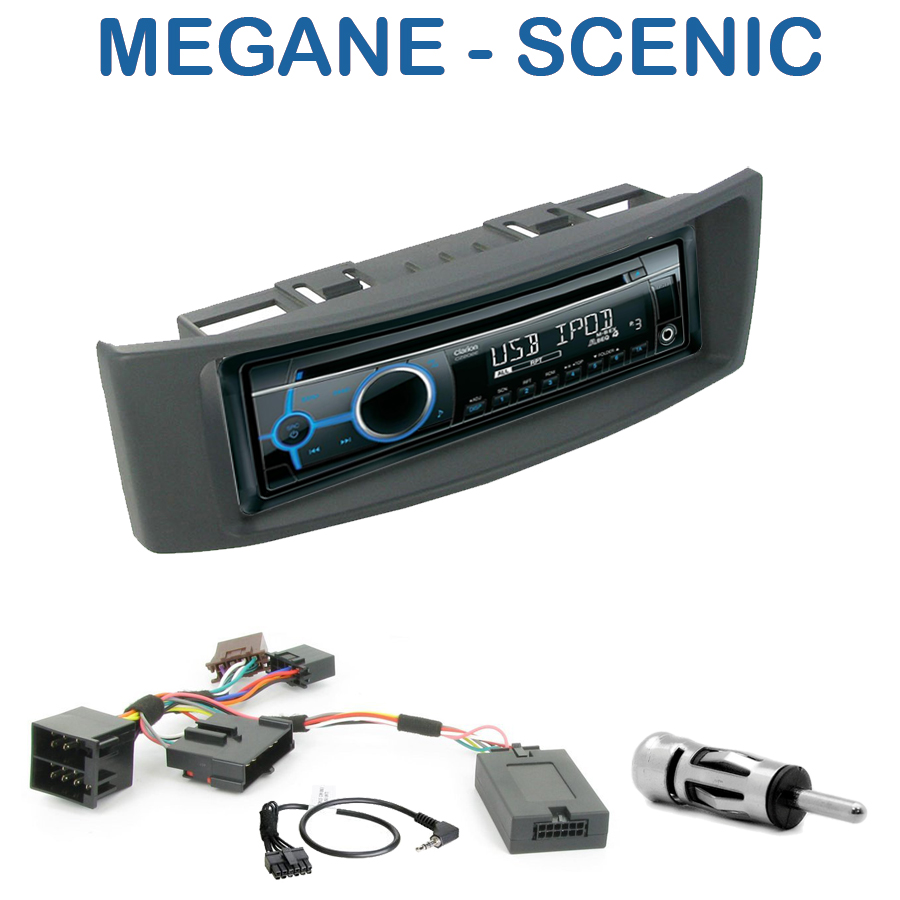 autoradio 1 din renault megane scenic poste cd usb mp3 wma renault autoradios. Black Bedroom Furniture Sets. Home Design Ideas