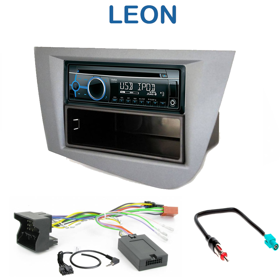 autoradio 1 din seat leon poste cd usb mp3 wma clarion. Black Bedroom Furniture Sets. Home Design Ideas