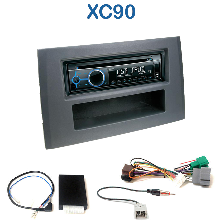 autoradio 1 din volvo xc90 avec cd usb mp3 bluetooth volvo. Black Bedroom Furniture Sets. Home Design Ideas